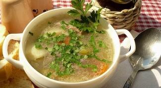 Шотландский пастуший суп из баранины