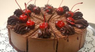 "Торт ""Шоколад в вишне"""