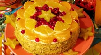 Как приготовить апельсиновый торт