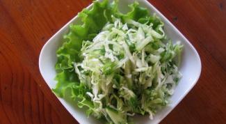 Как приготовить салат из капусты с пряностями
