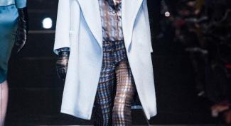 Модные женские пальто: осень 2014
