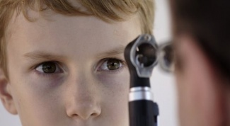 As children test the fundus