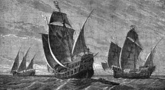Какой корабль участвовал в первой экспедиции Колумба