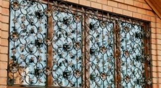 Как изготовить решетки на окна
