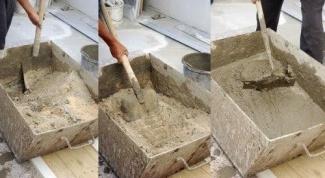 Как правильно подготовить бетон