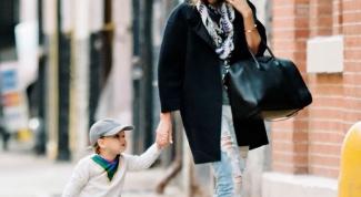 Как выглядеть хорошо с ребенком