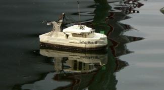 Как сделать кораблик из пенопласта