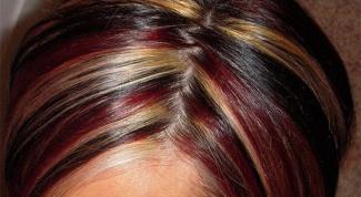 Как будет выглядеть мелирование волос