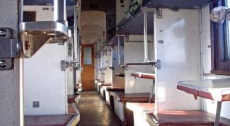 Как выглядит плацкартный вагон внутри