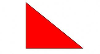 Как выглядят прямоугольные треугольники