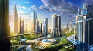 Как выглядит город будущего в 2017 году