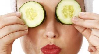 Как убрать желтые круги под глазами