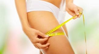 Как убрать жир с ног: диета
