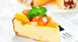 Как приготовить бланманже с персиками
