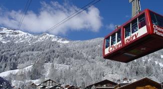 Горнолыжный отдых в Альпах: курорт Шампери