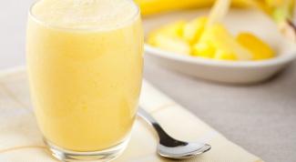 Желтые и оранжевые смузи для здоровья и хорошего настроения