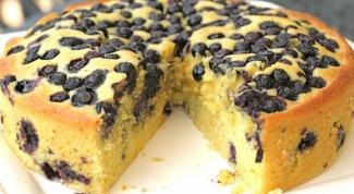 Как приготовить пирог с виноградом