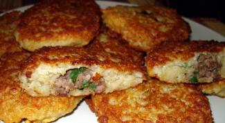 Как приготовить картофельные драники с мясом