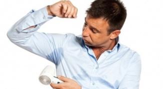 Как избавиться от повышенной потливости