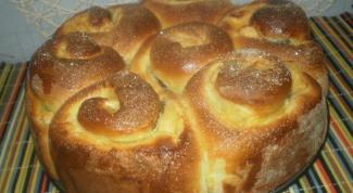 Пирог с тройной начинкой и яблоками