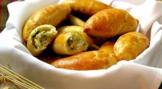 Пирожки с картошкой на скорую руку