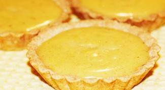 Готовим лимонные тарталетки