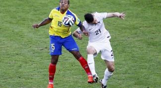 ЧМ 2014 по футболу: как проходил матч Эквадор - Франция