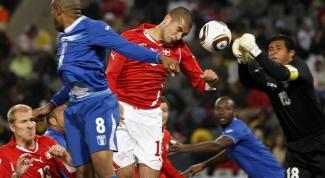 ЧМ 2014 по футболу: как проходила игра Гондурас - Швейцария