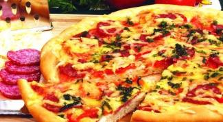 """Как сделать пирог а-ля """"Пицца"""""""