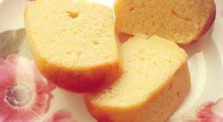 Манник на кефире: просто и вкусно