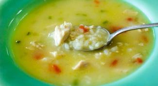 Суп рисовый Пастуший