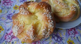 Как приготовить турецкие булочки с кунжутом