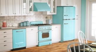 Кухня в стиле винтаж и ее особенности