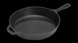How to care for a cast iron pan
