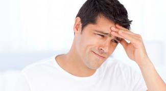 Первые признаки сотрясения мозга