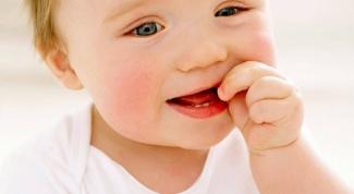 Как выглядит прорезывание зуба