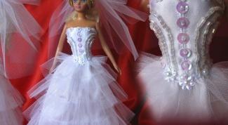 Как шить нарядные платья для Барби