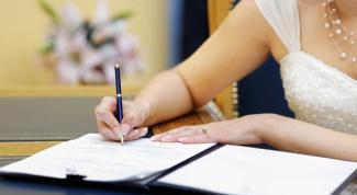 Как составить брачный договор после свадьбы