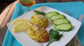 Как приготовить рыбные котлеты с творогом и цветной капустой