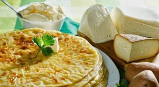 Как приготовить хычины с картофелем и сыром?