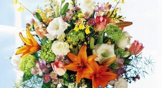 Какие цветы подходят к разным именам
