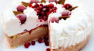 Торт «Лед в молоке»