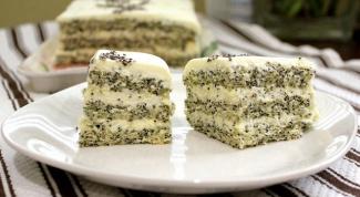 Торт «Маковое чудо»