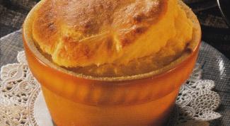 Суфле картофельное с сыром
