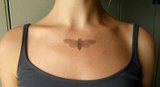 Как можно сделать временную татуировку