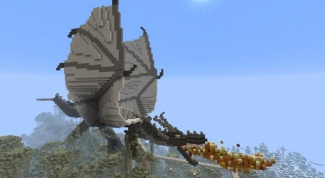 In Minecraft how to make a dragon