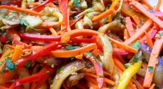 Салат на зиму «Баклажаны по-татарски»