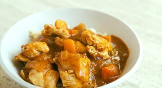 Chicken in apricot sauce