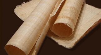 Как изготавливают папирус