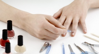 What tools do you need for a manicure
